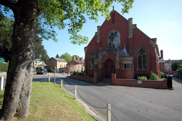 At Wycar is the Methodist Chapel which has been there since about 1750.